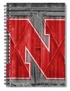 Nebraska Cornhuskers Barn Doors Spiral Notebook