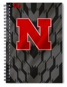 Nebraska Cornhuskers Uniform Spiral Notebook