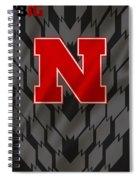Nebraska Cornhuskers Uniform Spiral Notebook