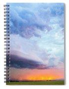 Nebraska Thunderstorm Eye Candy 021 Spiral Notebook
