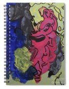 Nebulae 2 Spiral Notebook