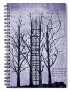 Neck Of The Woods II  Spiral Notebook