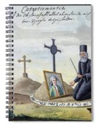 Necromancy, 18th Century Spiral Notebook