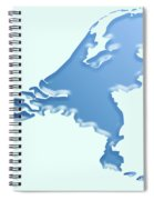 Nederland Waterland Spiral Notebook
