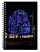 Needham's Blue Tree Spiral Notebook