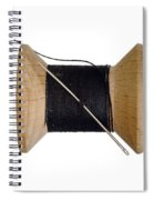 Needle And Thread Spiral Notebook