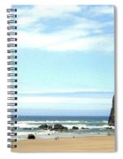 Needles And The Haystack Spiral Notebook