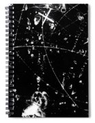 Negative K Mesons, Bubble Chamber Event Spiral Notebook
