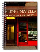 Neighborhood Shop - Dry Cleaners Spiral Notebook