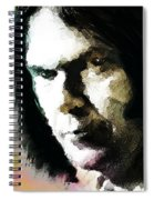 Neil Young Portrait  Spiral Notebook