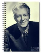 Nelson Eddy, Vintage Actor Spiral Notebook