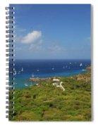 Nelson's Dockyard Antigua Spiral Notebook