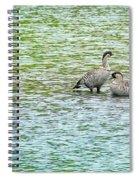 Nene Water Wings Spiral Notebook