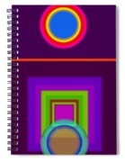 Neo-classical Cart Spiral Notebook