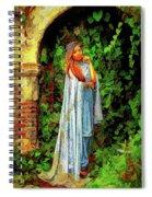 Neo Pre-raphaelite Spiral Notebook