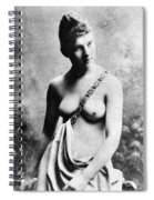 Neoclassical Nude Spiral Notebook