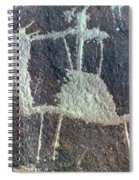 Neolithic Petroglyph Spiral Notebook