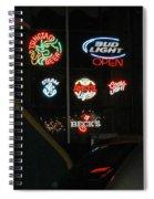Neon Beer Spiral Notebook