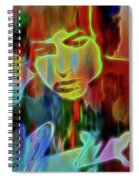 Neon Color Bob Dylan Spiral Notebook