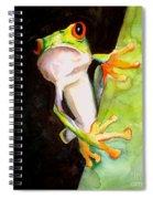 Neon Frog Spiral Notebook