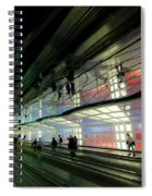 Neon Hall 2 Spiral Notebook