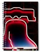 Neon Liberty Spiral Notebook