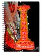 Neon Nathans Spiral Notebook