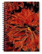 Neon Nature Spiral Notebook