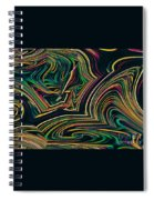 Neon Night Life Spiral Notebook