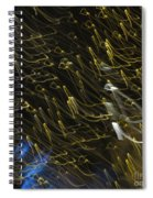 Neon Percussion Spiral Notebook