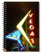 Neon Signs 3 Spiral Notebook