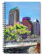 Neon Tampa Spiral Notebook