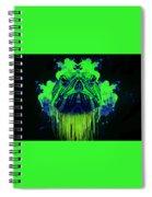 Neon Turtle Spiral Notebook