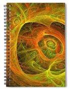 Angelic Script Y G O Spiral Notebook
