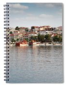 Neos Marmaras Greece Summer Vacation Spiral Notebook