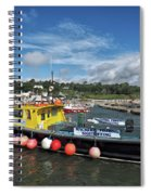 Neptune At The Harbour Spiral Notebook