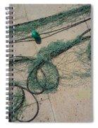 Neptune Green Spiral Notebook