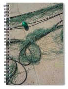Neptune Green Spiral Notebook