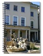 Neptunes Fountain Spiral Notebook