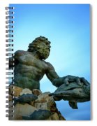 Neptune's Power Spiral Notebook