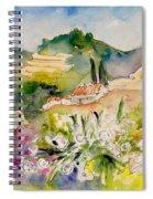 Nerja 01 Spiral Notebook