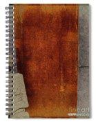 Nero Rustic Sculpture Wall Spiral Notebook