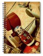 Nest Of Russian Dolls Spiral Notebook