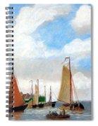 Netherland's Harbour Spiral Notebook