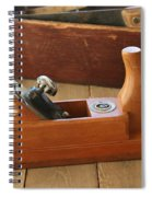 Neuenfeld Wood Plane Spiral Notebook