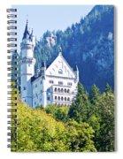 Neuschwanstein Castle 1 Spiral Notebook