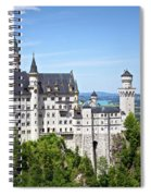 Neuschwanstein Castle Of Germany Spiral Notebook