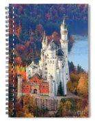 Neuschwanstein - Germany Spiral Notebook