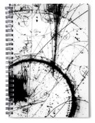 Neutrino, Bubble Chamber Event Spiral Notebook