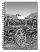 Nevada City Montana Freight Wagon Spiral Notebook